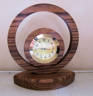 Graham's second placed clock