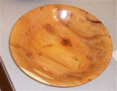 Yew bowl by Dave Matson