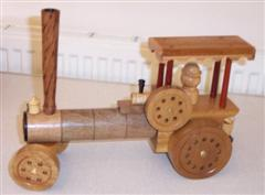 Traction engine by Kevyn Brooks