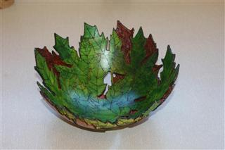 Pat's commended Leaf bowl