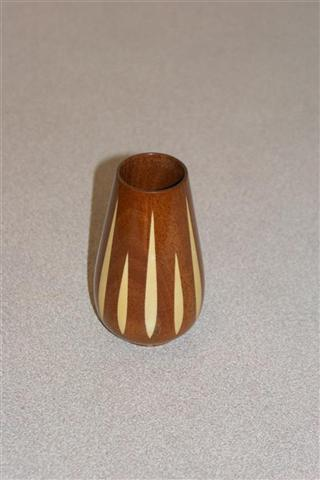 Segmented vase by Howard Overton