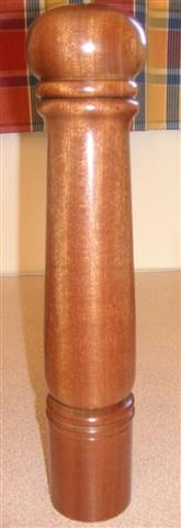 Fred Taylor's commended pepper mill