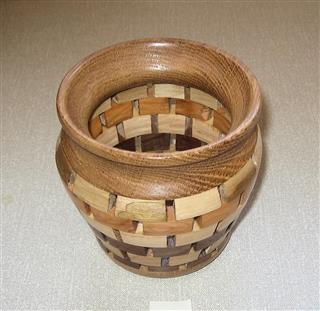 Another segmented vase by Bernard