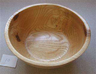 This bowl by Keith turned on his pole lathe