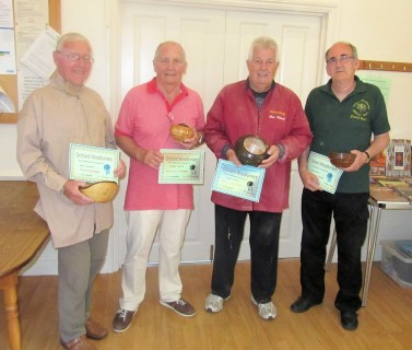 Winners of the August certificates as chosen by club members