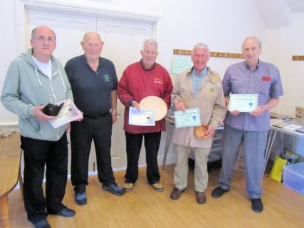 Winners of the August certificates as chosen by Mort Hill