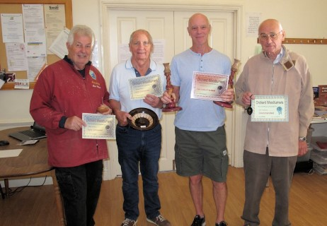 Winners of the August certificates
