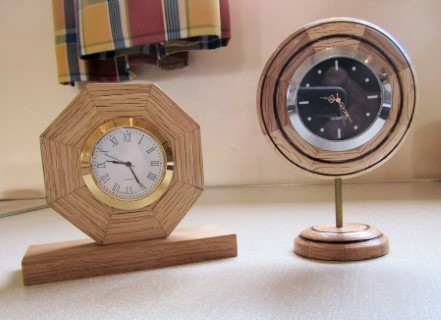 Two clocks by Fred Taylor