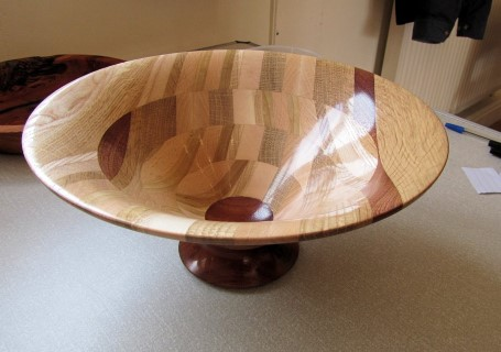 Segmented bowl by Chris Withal