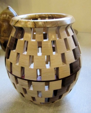 Segmented vase by Chris Withall
