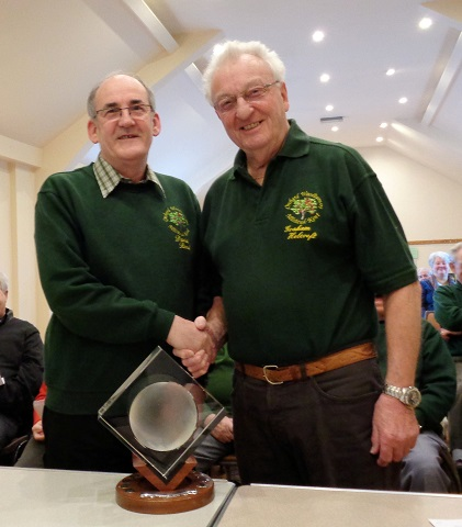 David Reed wins the Bill Alston Trophy for 2014