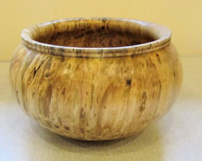 Spalted bowl by Pat Hughes