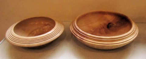 Two bowls by Chris Withall