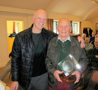 Ian Alston presented Howard Overton with the Bill Alston memorial trophy