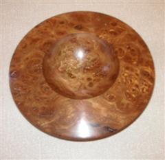 Burr elm bowl by Norman Smithers
