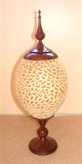 Delicate vase by Howard Overton