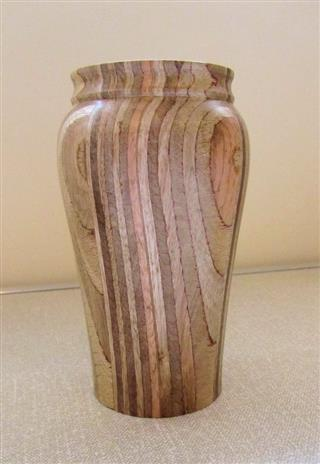 Ply vase by Pat Hughes