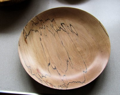 Spalted dish by Nick Caruana