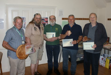 The June winners with Greg Moreton