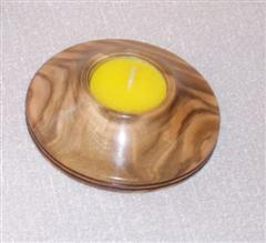 Candle holder by Pat Hughes