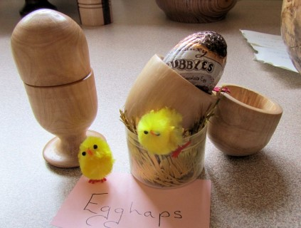 Drunken egg cups by Dawn Royall