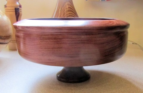 Bowl on a raised foot by Tony Flood