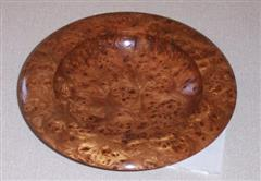 Burr Elm dish by Geoff Hunt