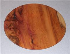 Elm Platter by Bill Burden