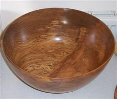 Spalted Elm bowl by Dave Matson