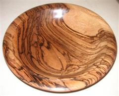 Bill's winning zebrano bowl