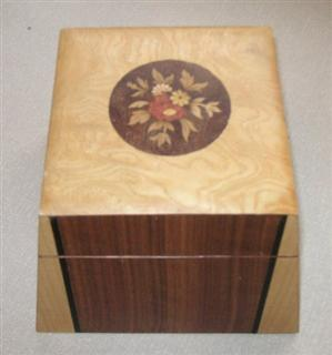 Inlaid box by Mike Fisher