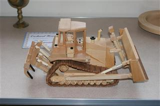 Bulldozer (Display only) by Chris Withall