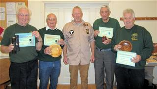 Winners of the November certificates as chosen by Tony Handford