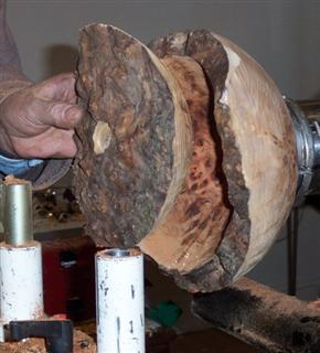Core of burr removed using Oneway tool