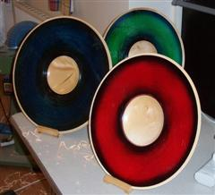 Three  samples of platter by Dave Reeks