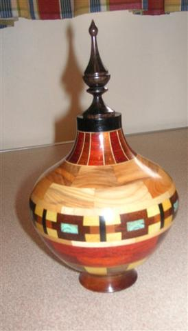 Frank Hayward's winning pot