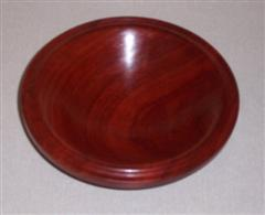 Padauk bowl by John Brocklehurst