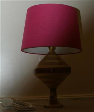 Nick's comended lamp