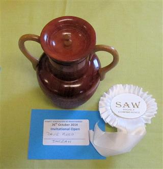 David Reed's pot and rosette